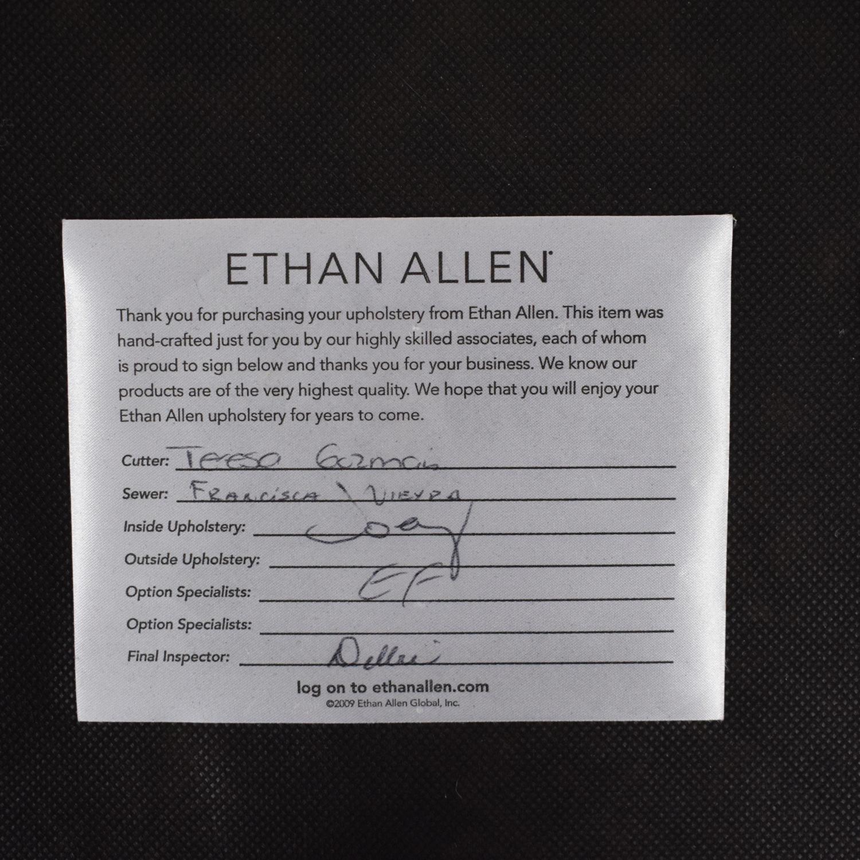 Ethan Allen Ethan Allen Matteo Leather Bench