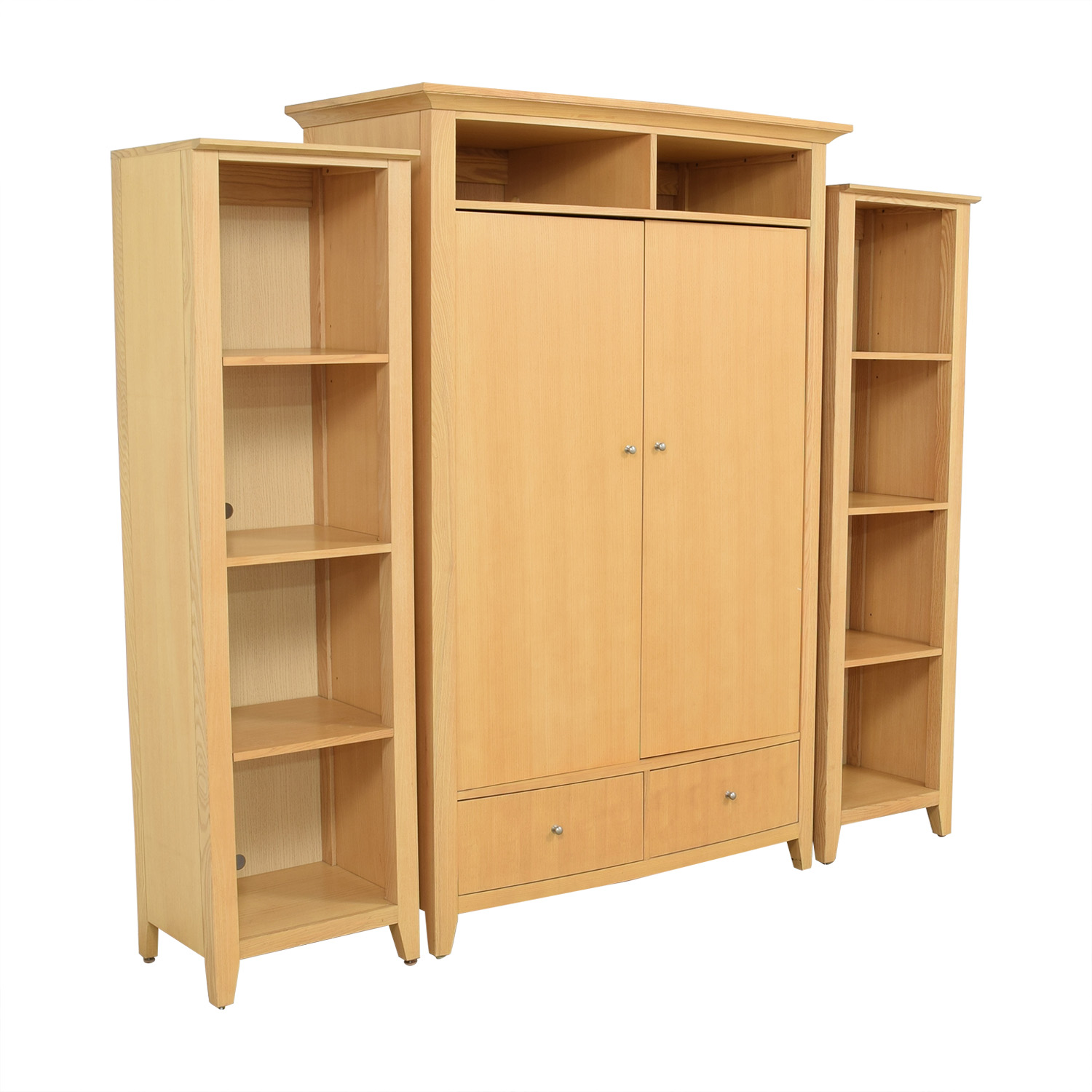 Thomasville Thomasville Armoire with Bookshelves for sale