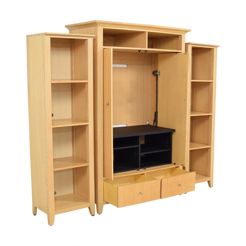 Thomasville Thomasville Armoire with Bookshelves nj