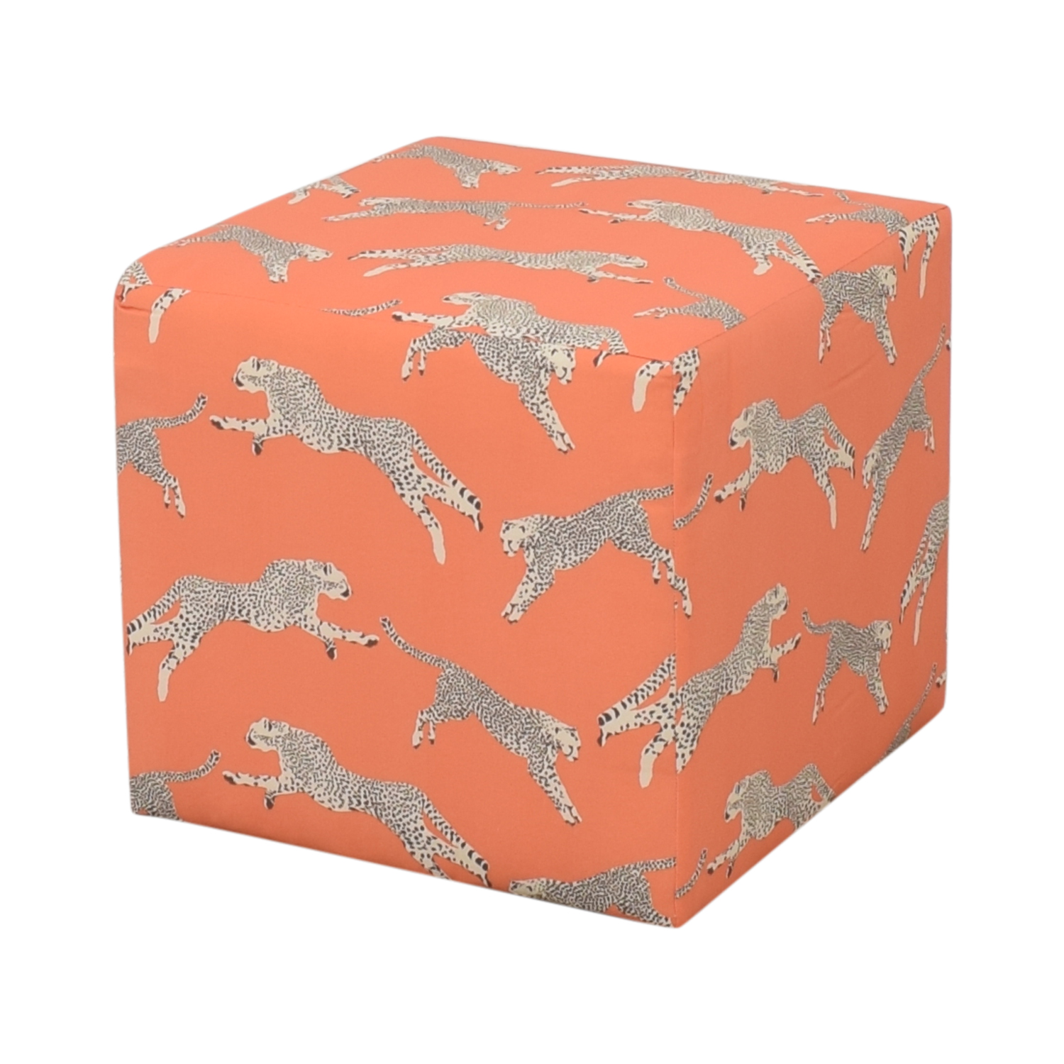 The Inside The Inside Cube Ottoman Henna Cheetah by Scalamandré coupon