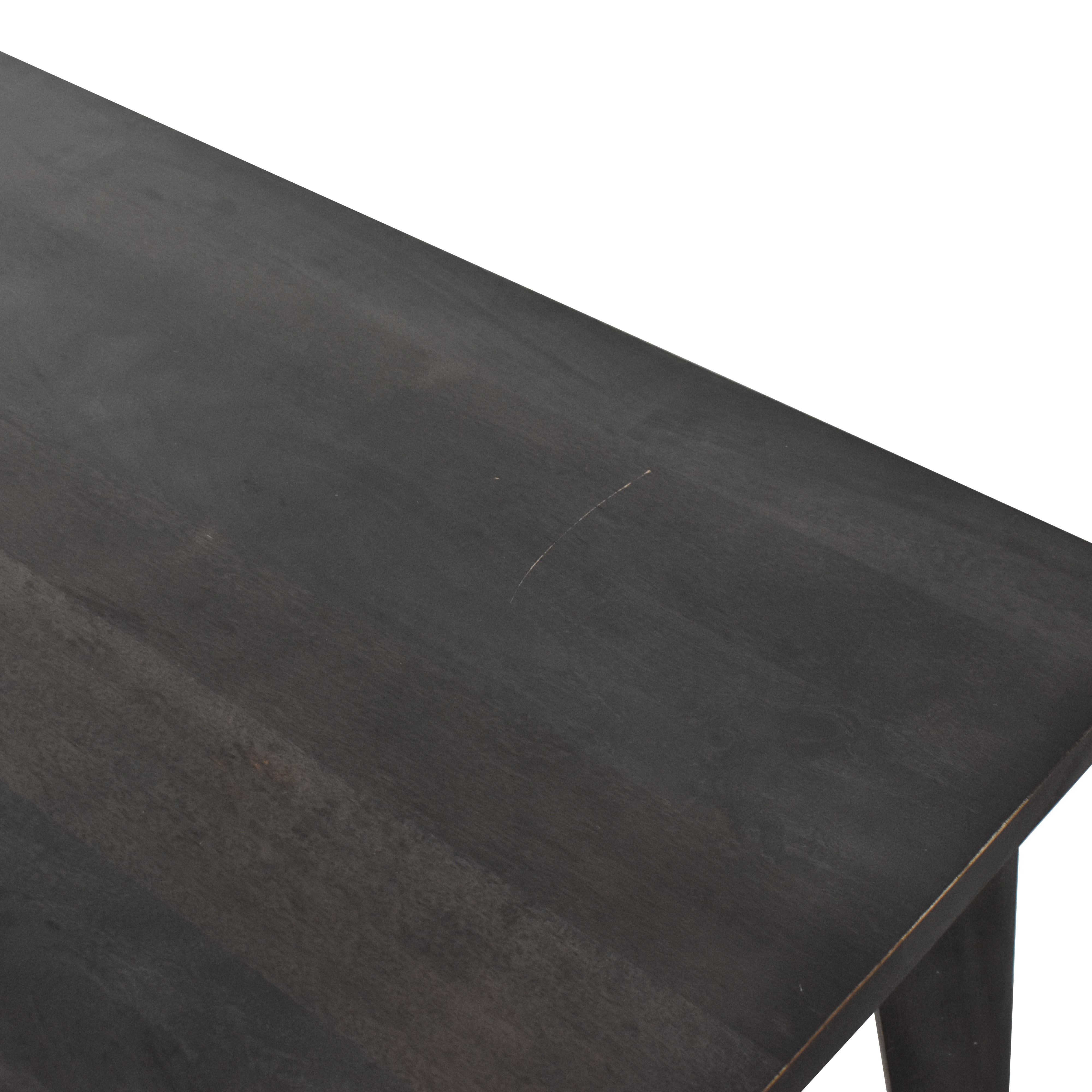 CB2 Finmark Charcoal Dining Table CB2