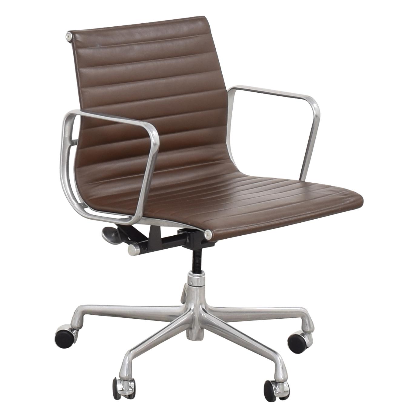 Herman Miller Herman Miller Eames Aluminum Group Management Chair dimensions