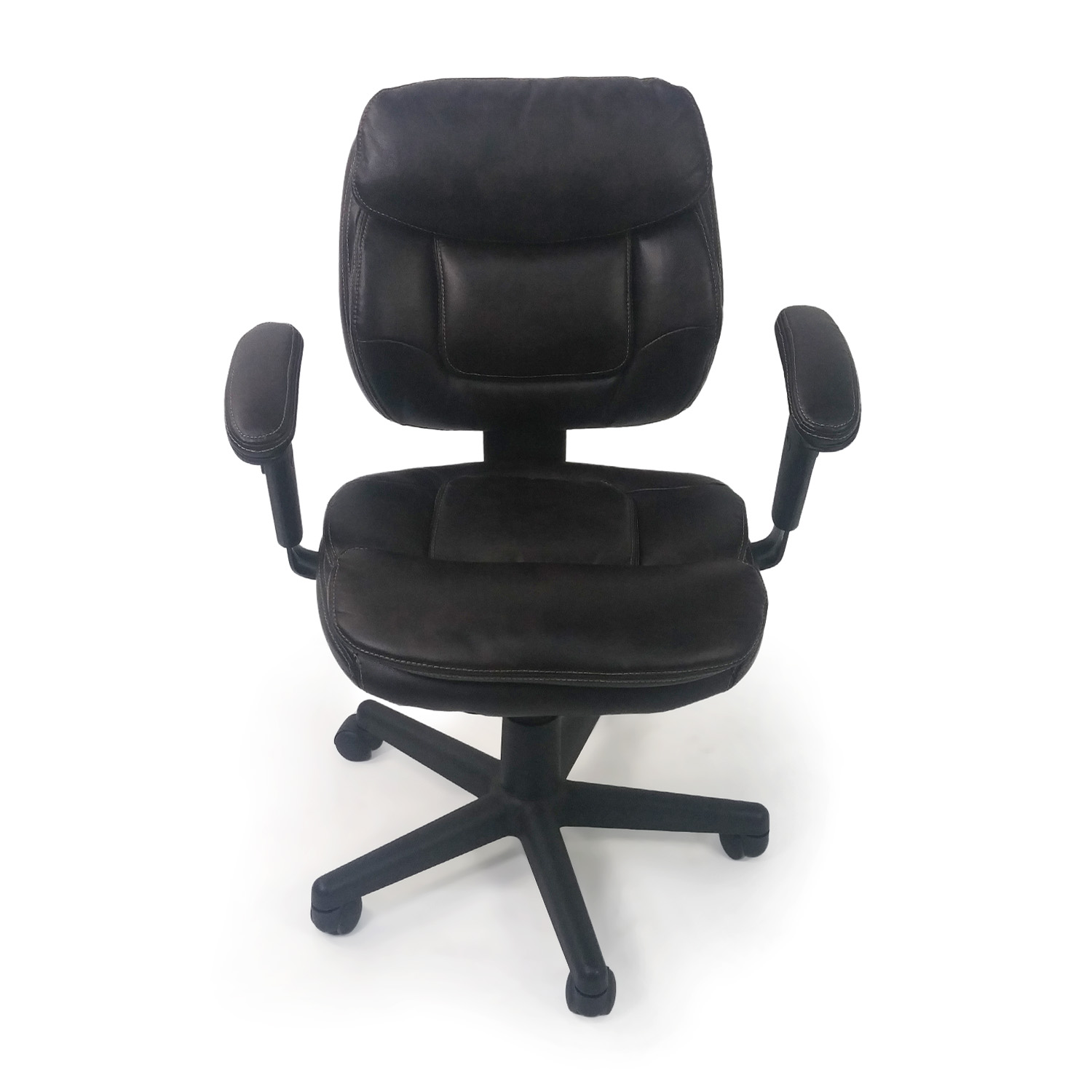 Plush Faux Leather Office Chair / Home Office Chairs