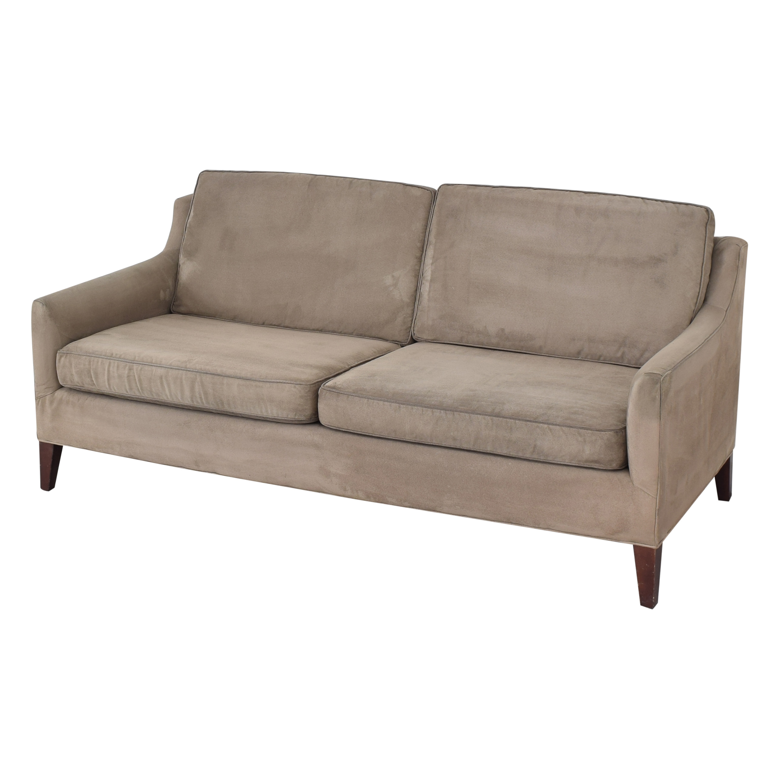 buy Mitchell Gold + Bob Williams Taylor Apartment Sofa with Ottoman Mitchell Gold + Bob Williams Sofas