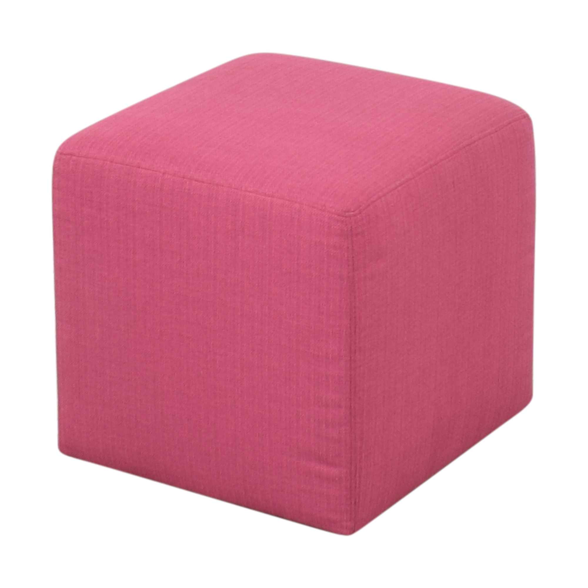 ABC Carpet & Home Square Upholstered Ottoman discount