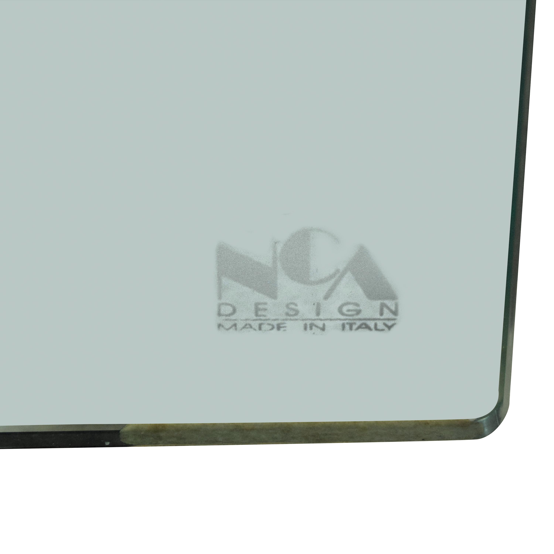 NCA Design NCA Design Bent Glass Side Table pa