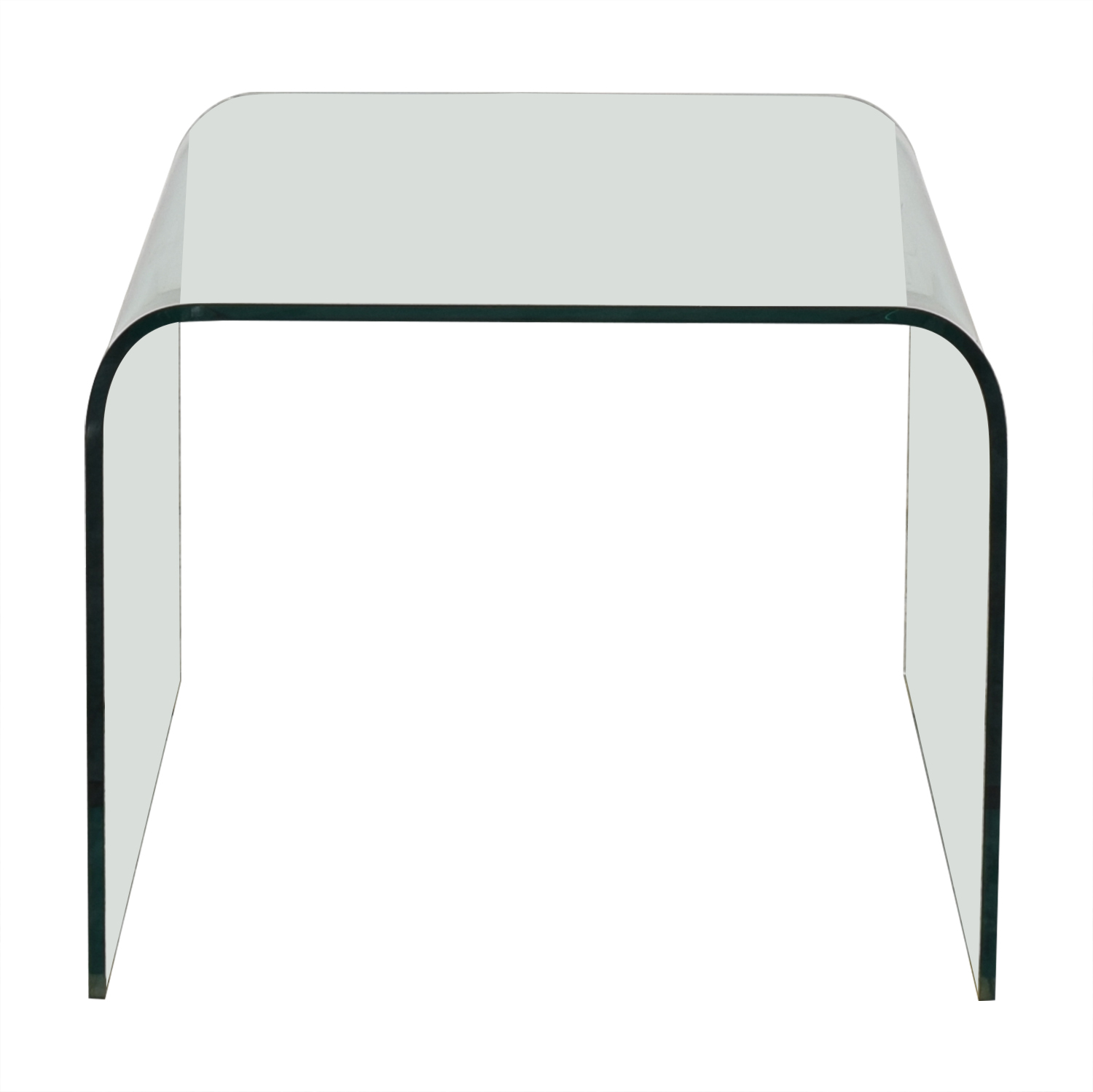 NCA Design NCA Design Bent Glass Side Table Tables