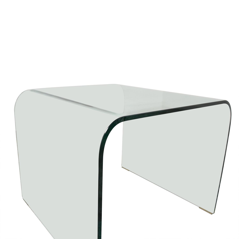 NCA Design NCA Design Bent Glass Side Table second hand