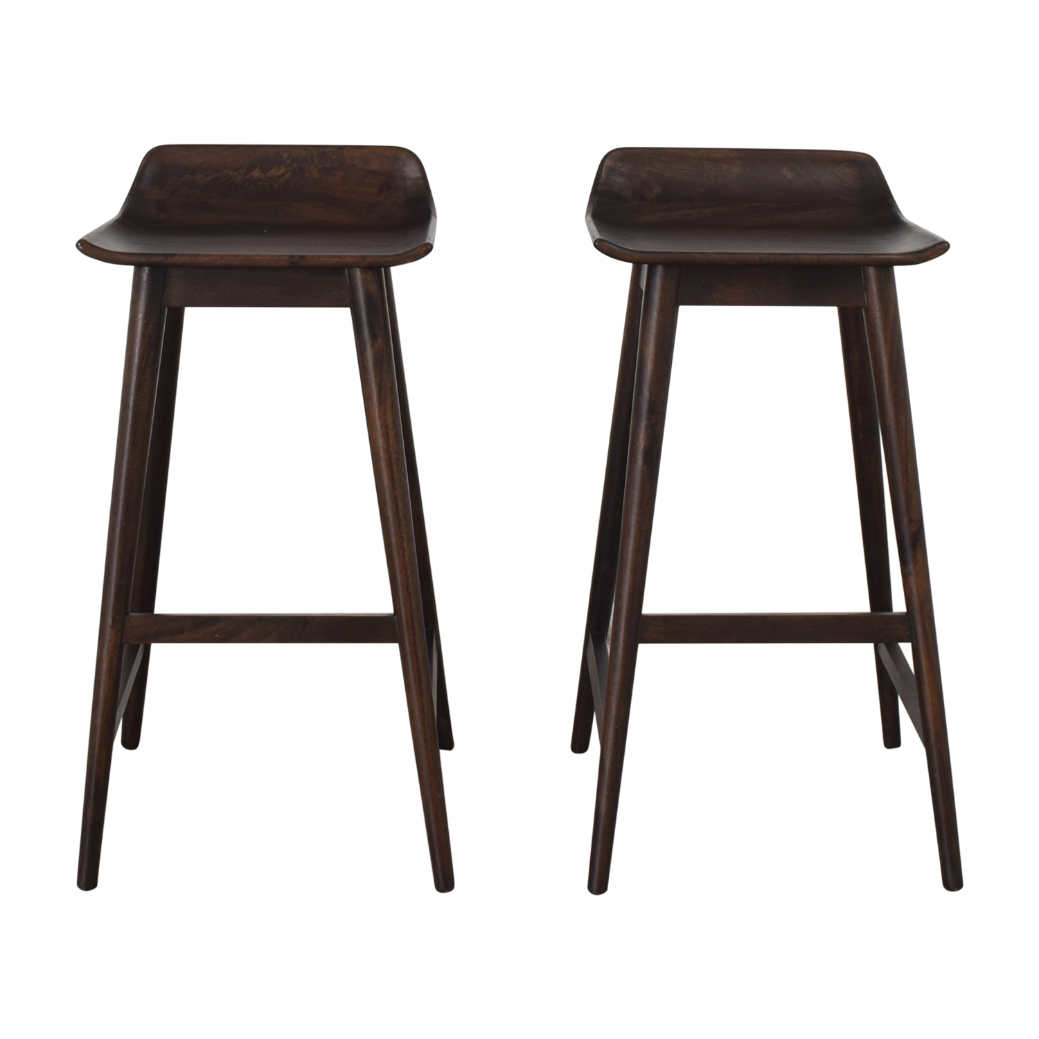 shop CB2 Wainscott Bar Stools CB2 Chairs