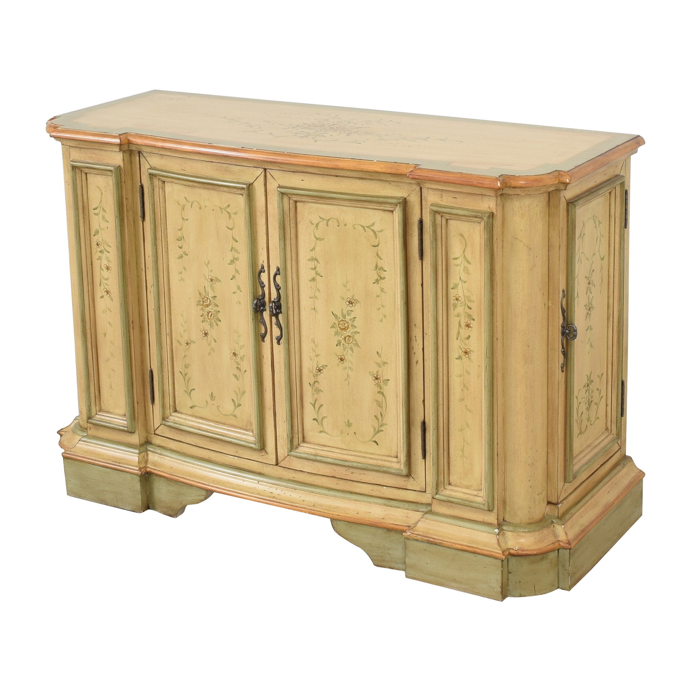 Powell Powell English Garden Console Cabinet on sale
