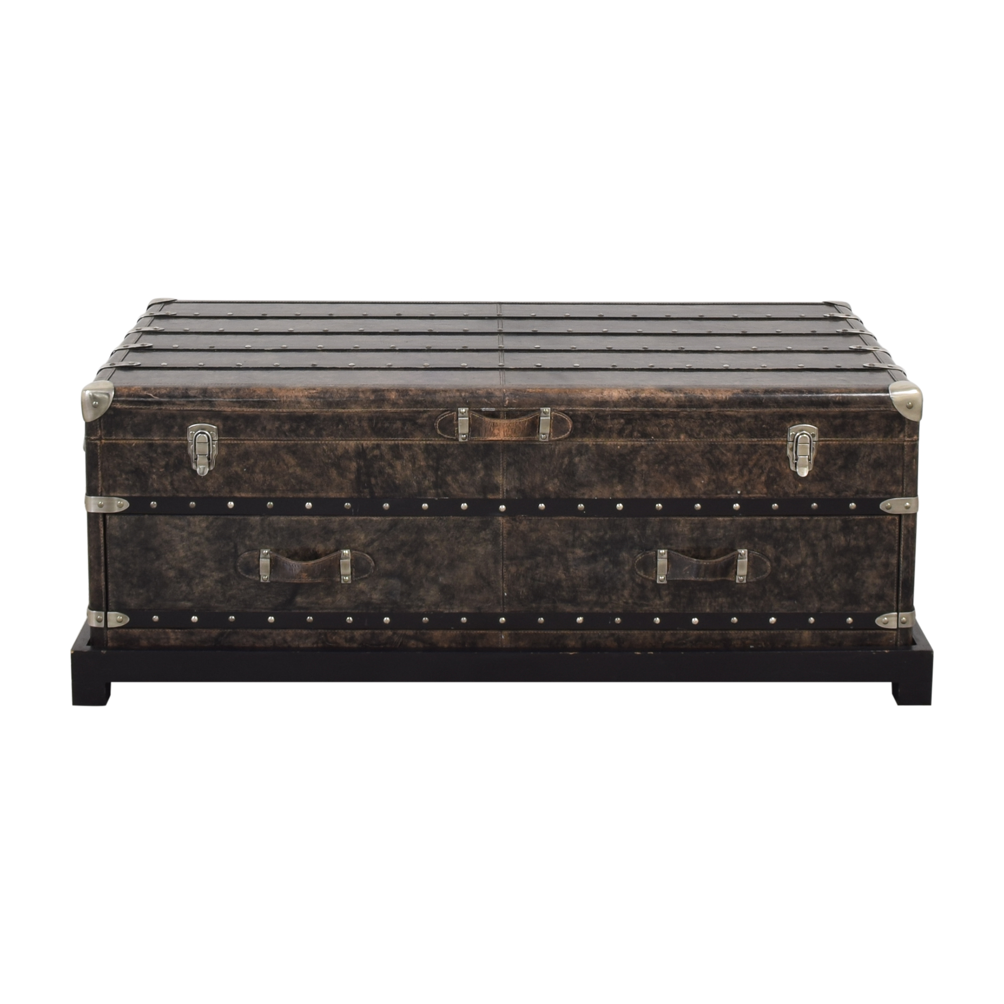63 Off Arhaus Arhaus Trunk Coffee Table Storage