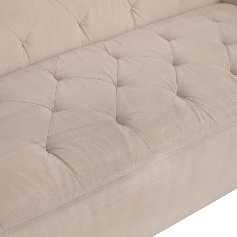 shop Macy's Lisette Tufted Sofa Macy's Classic Sofas