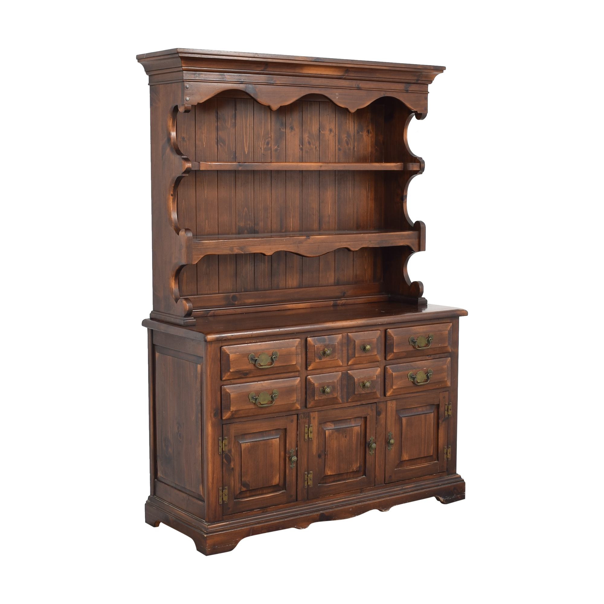shop Link-Taylor Cabinet with Hutch Link-Taylor Cabinets & Sideboards
