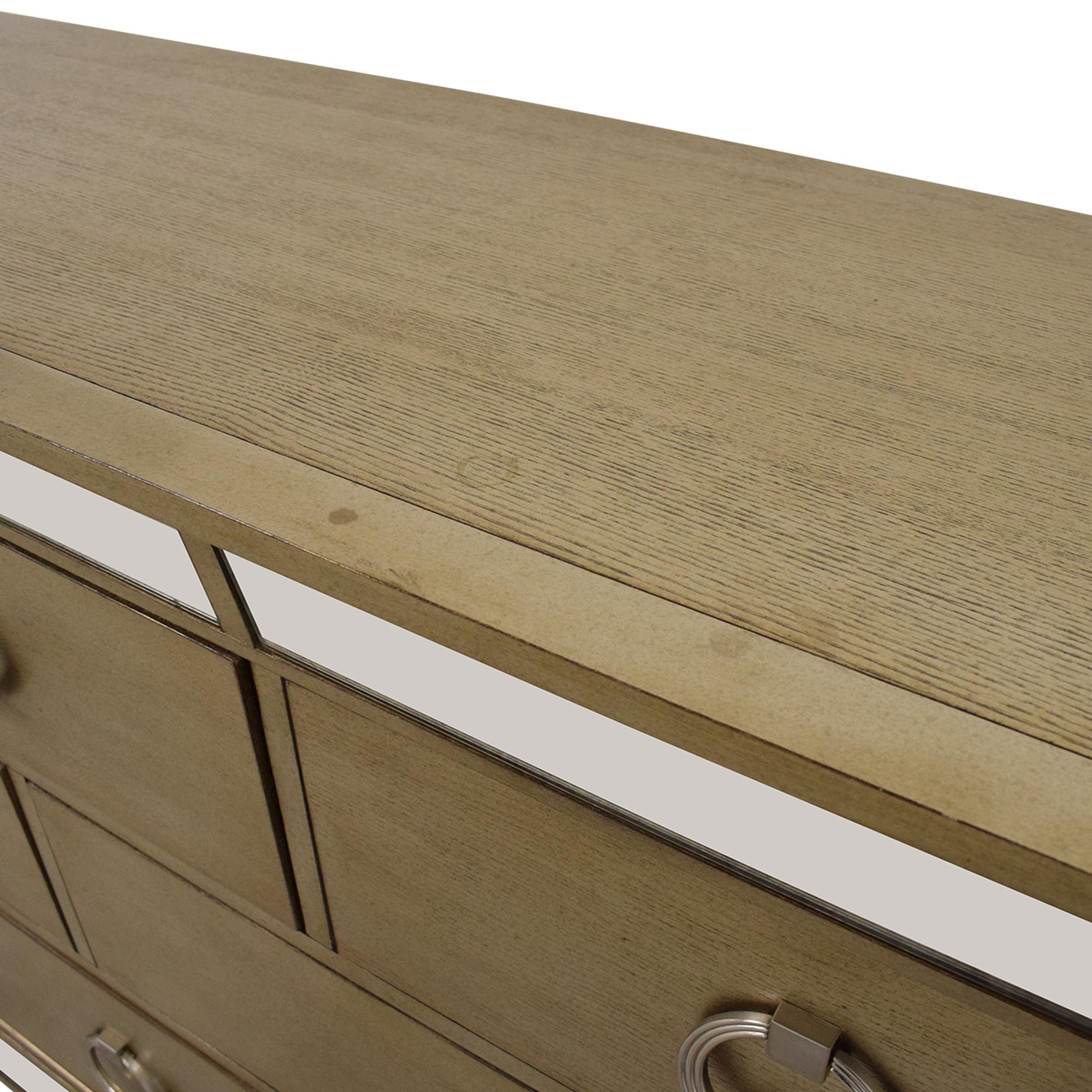Macy's Macy's Ailey Eight Drawer Dresser pa