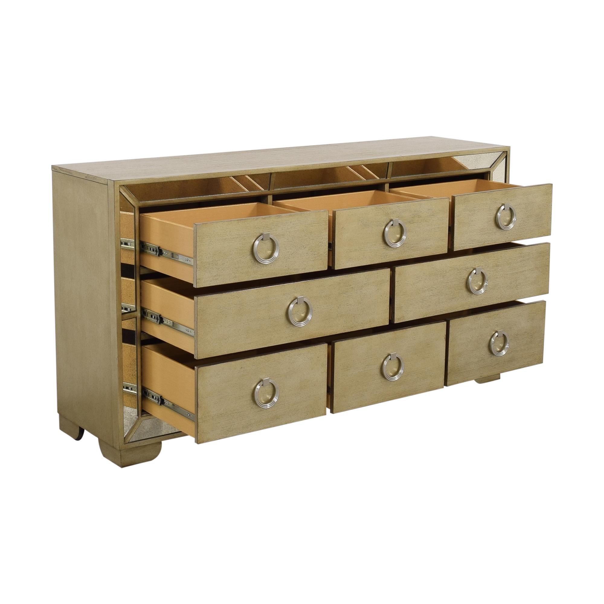 Macy's Macy's Ailey Eight Drawer Dresser on sale