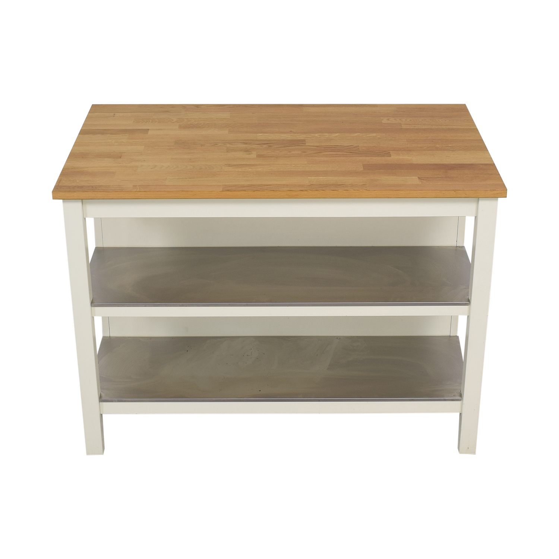 26 Off Ikea Ikea Stenstorp Kitchen Island Tables