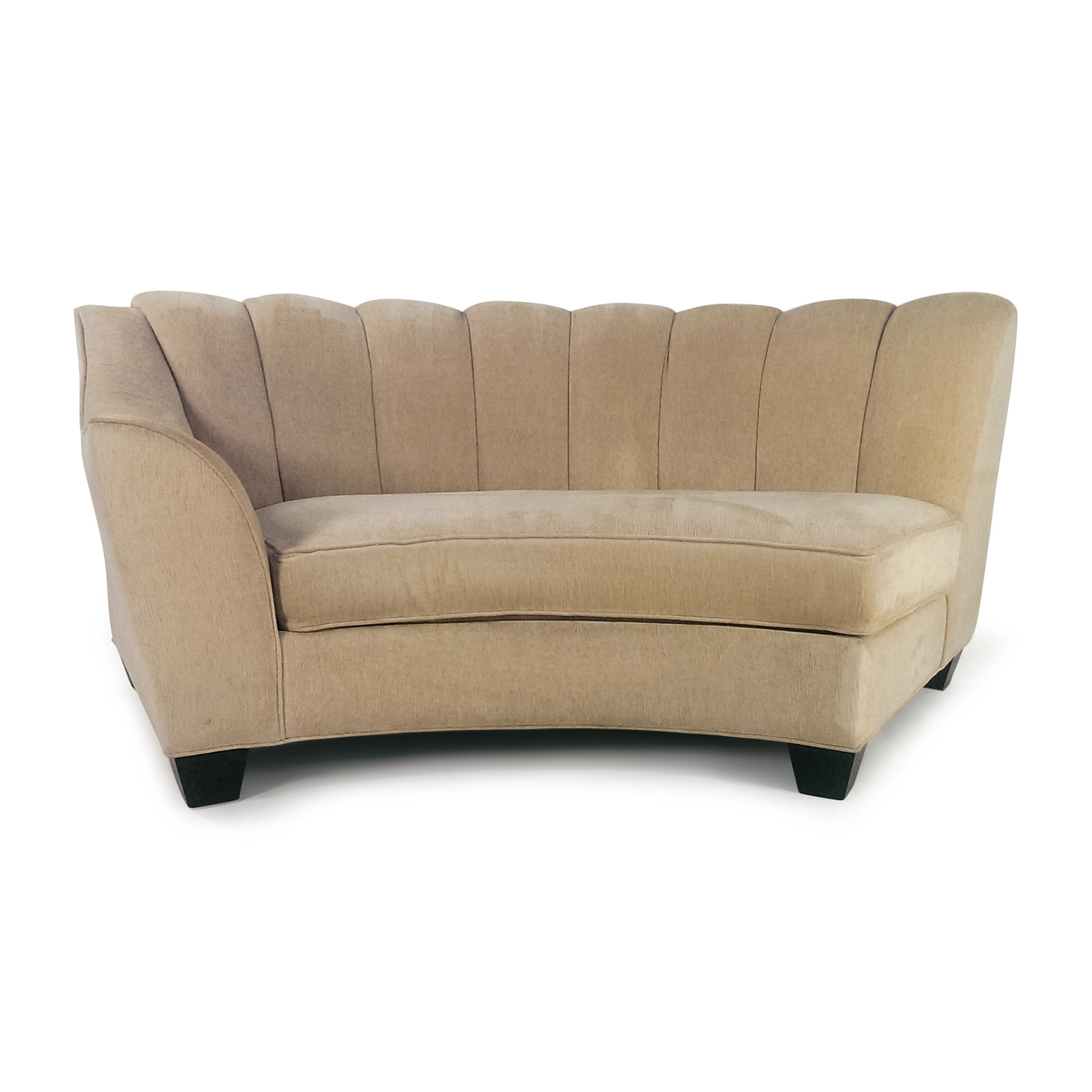 Admirable 84 Off Cindy Crawford Home Cindy Crawford Beige Loveseat Sofas Caraccident5 Cool Chair Designs And Ideas Caraccident5Info