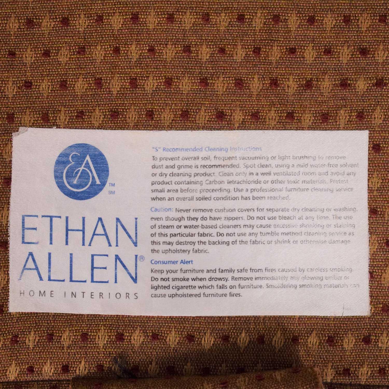 Ethan Allen Ethan Allen Fabric Patterned Loveseat ct