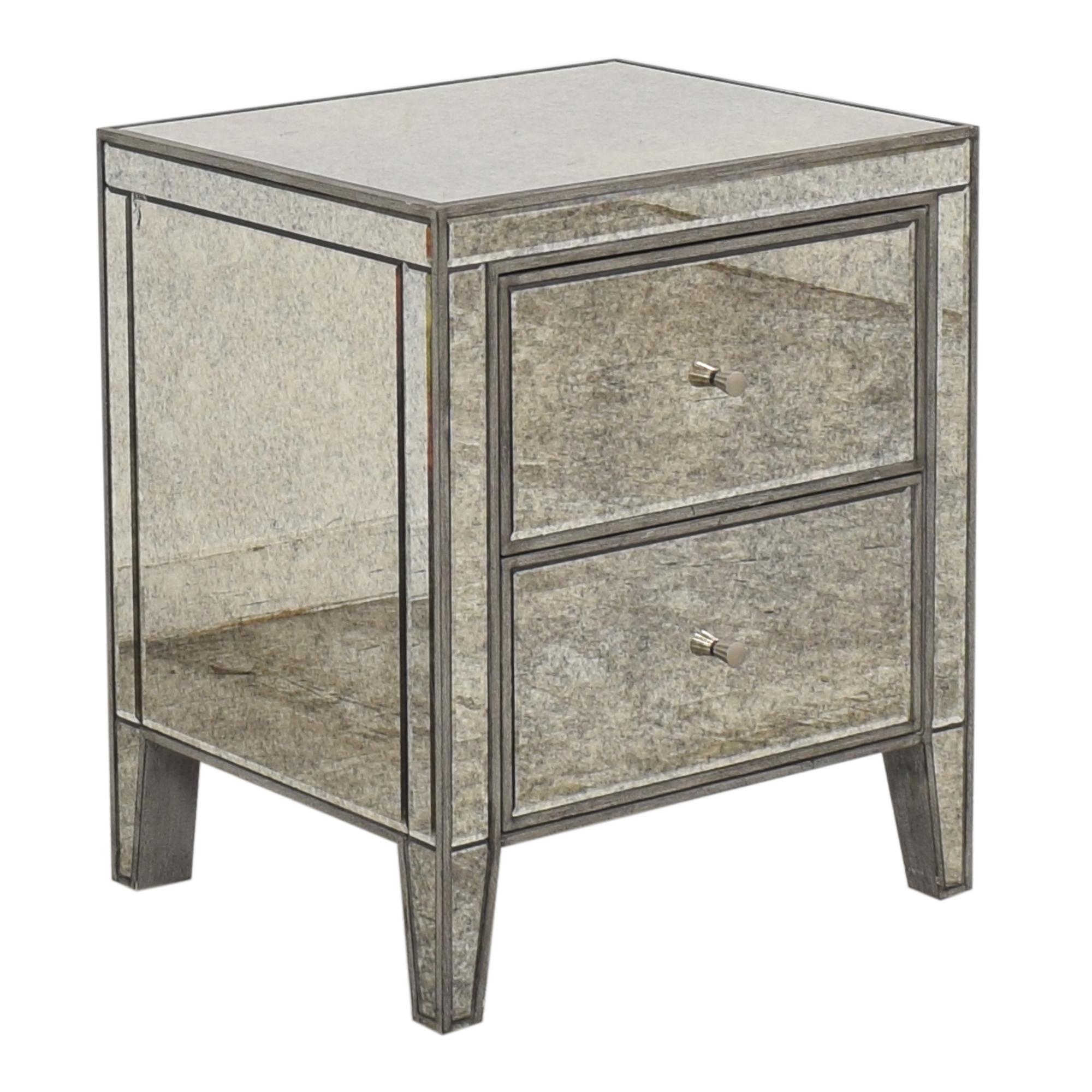 buy Arhaus Reese Two Drawer Nightstand Arhaus Tables