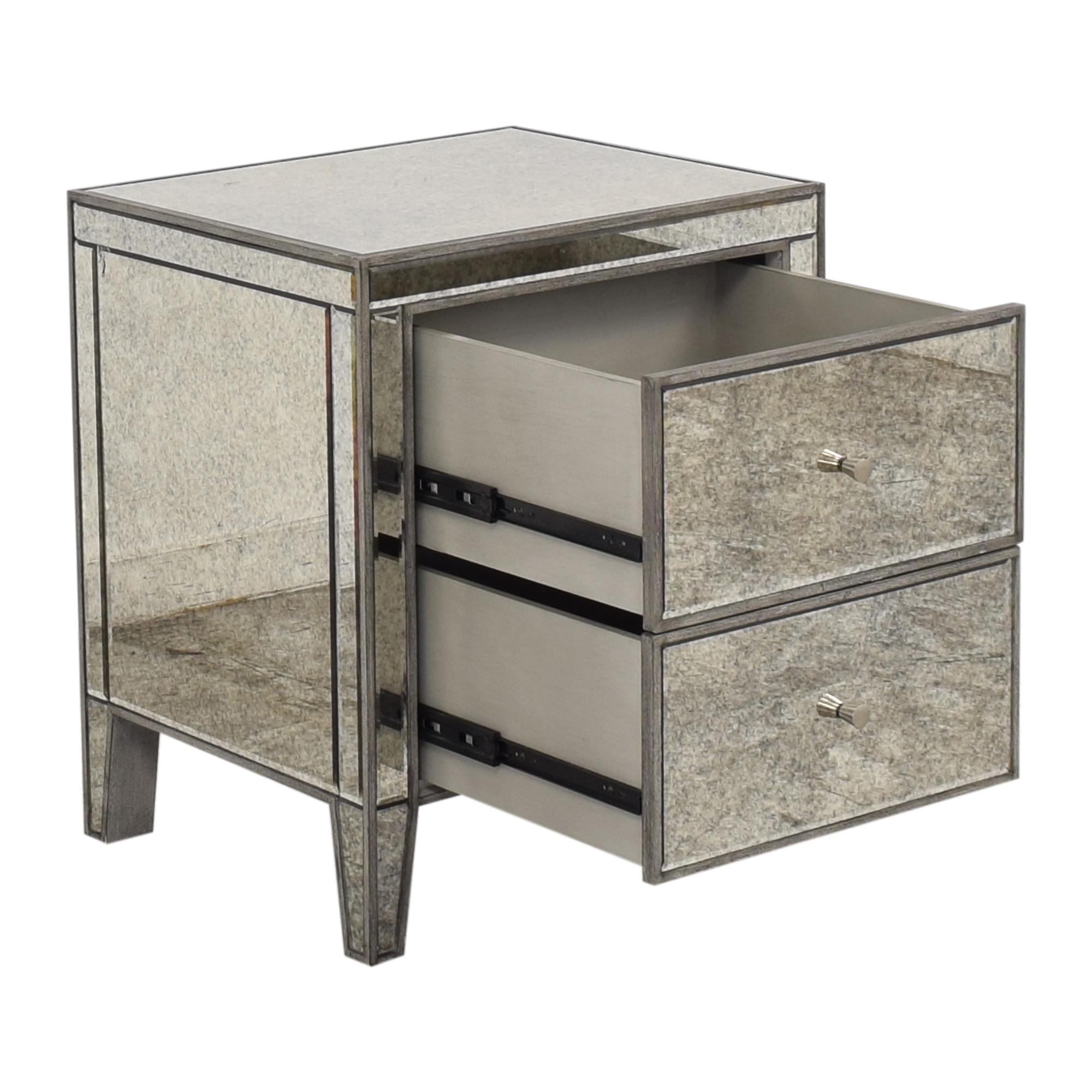 Arhaus Reese Two Drawer Nightstand / Tables