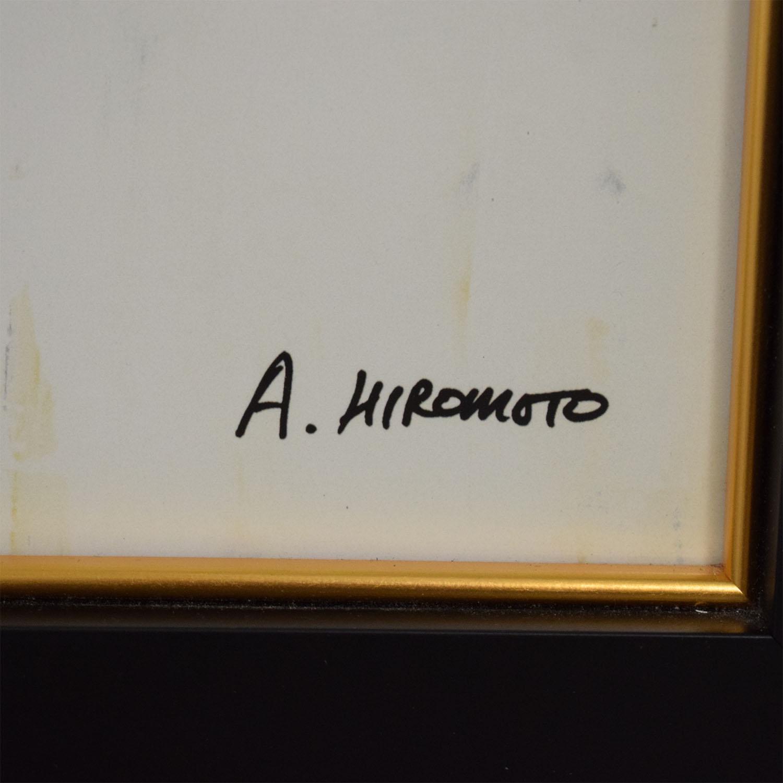 Ethan Allen Ethan Allen A Hiromoto Artwork Decor