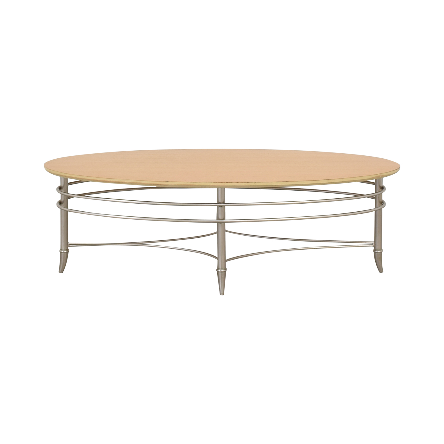 Oval Coffee Table pa