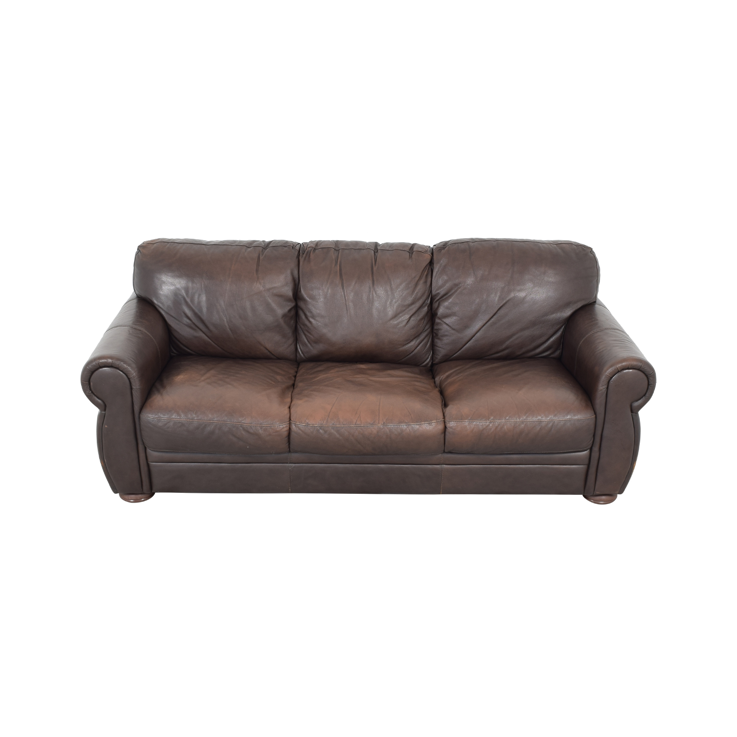 buy Chateau D'ax Marsala Leather Sofa Chateau d'Ax