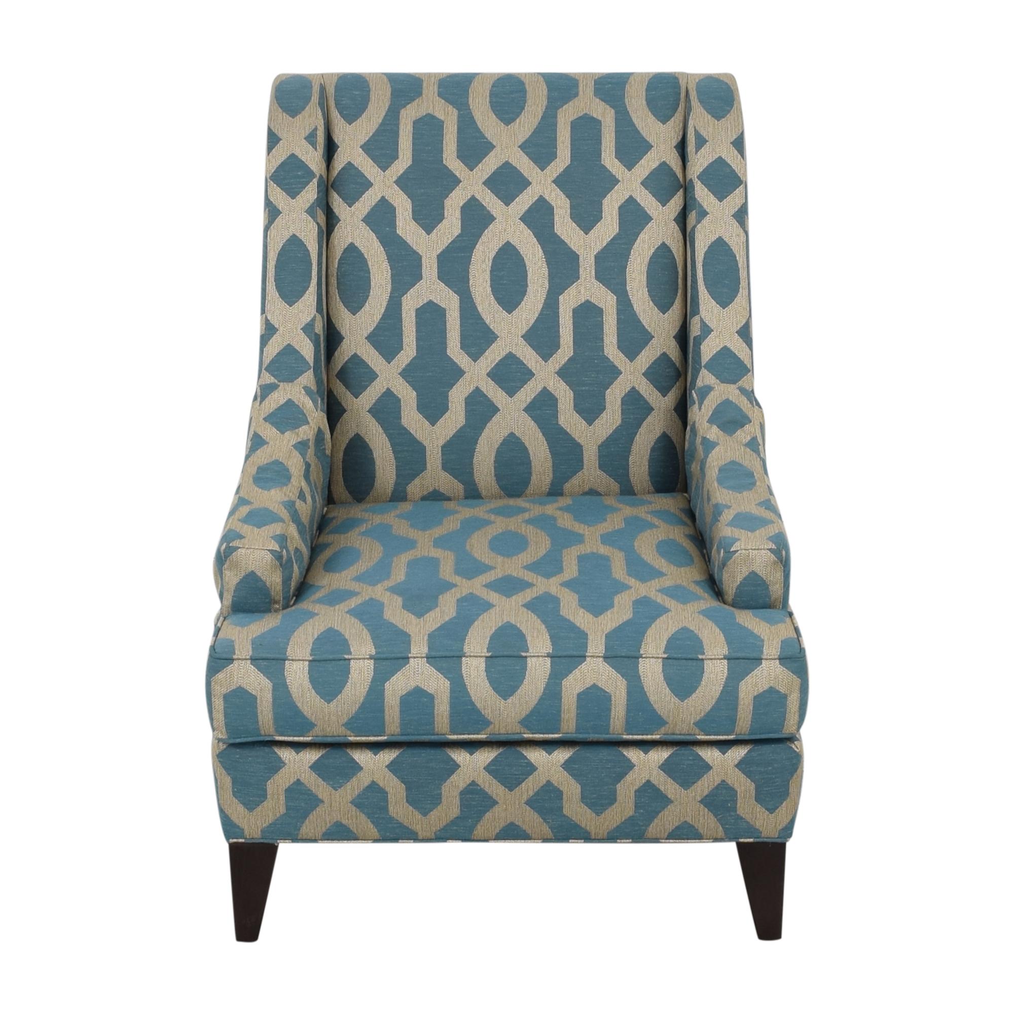 shop Ethan Allen Emerson Chair and Ottoman Ethan Allen Accent Chairs
