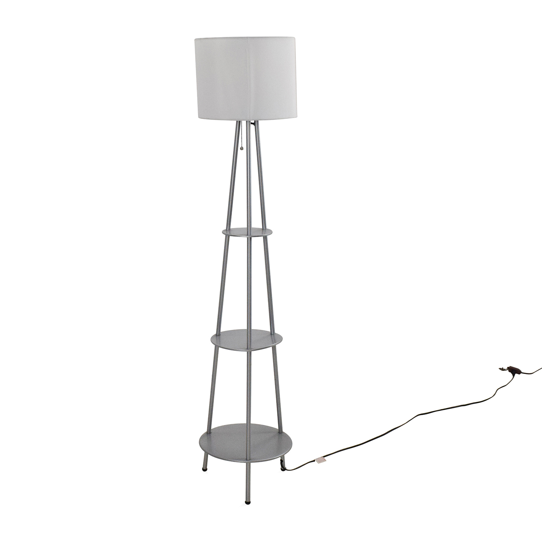 Target Tall Stylish Lamp / Sofas