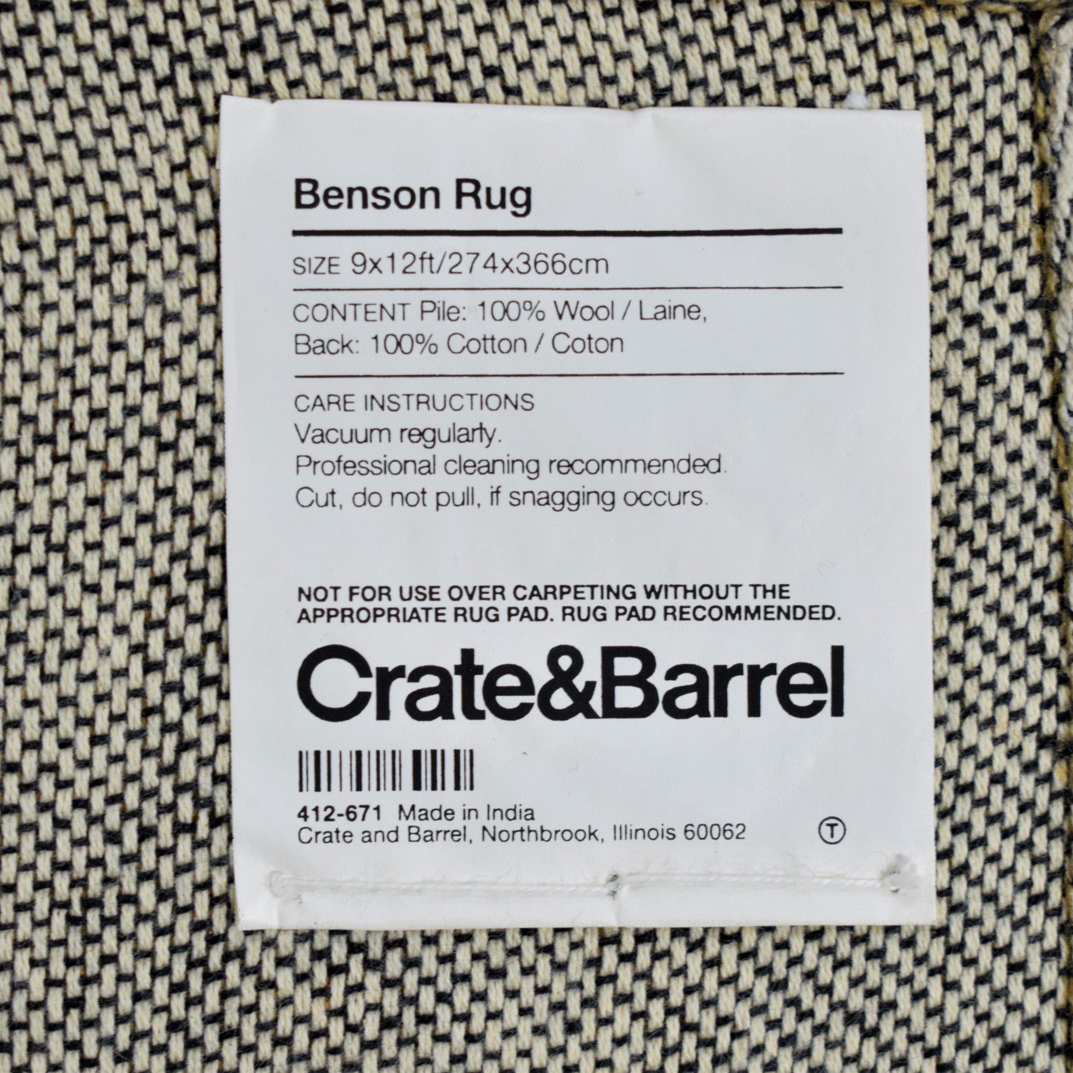 shop Crate & Barrel Crate & Barrel Benson Rug online