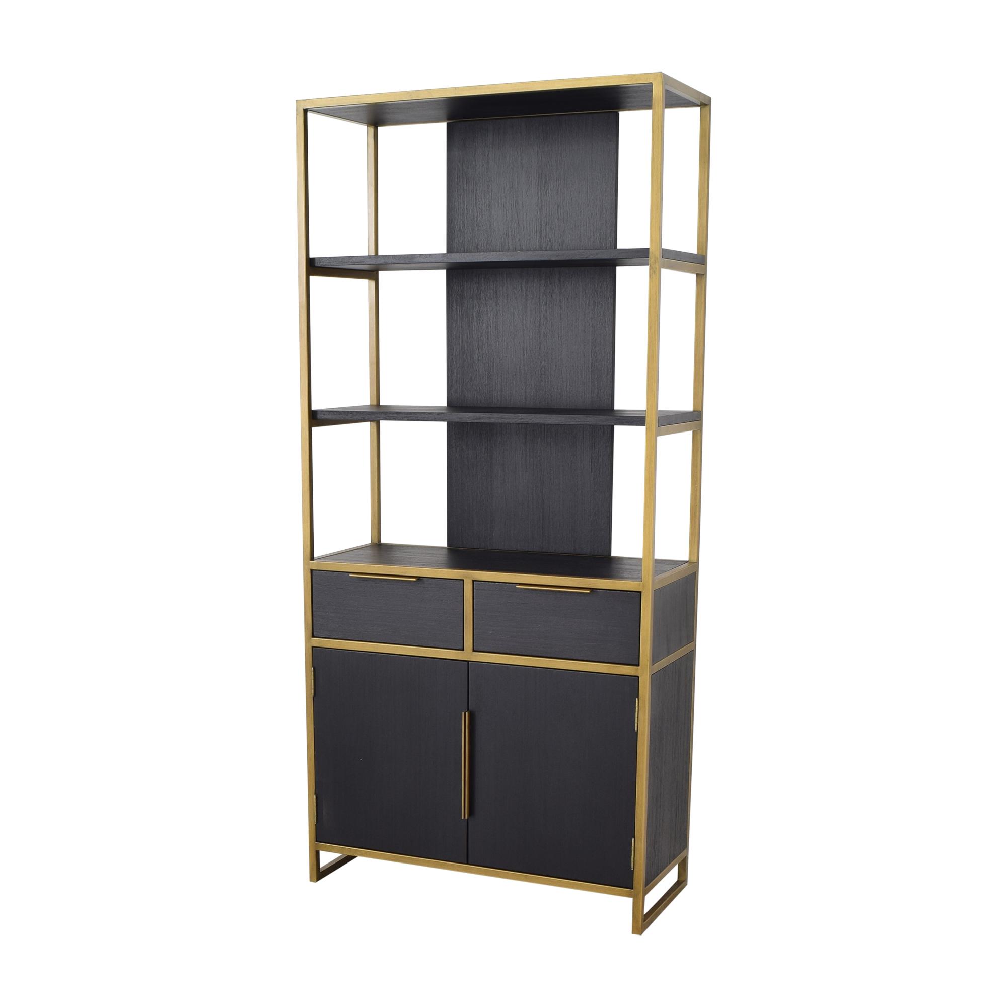 Crate & Barrel Crate & Barrel Oxford Wide Storage Bookcase
