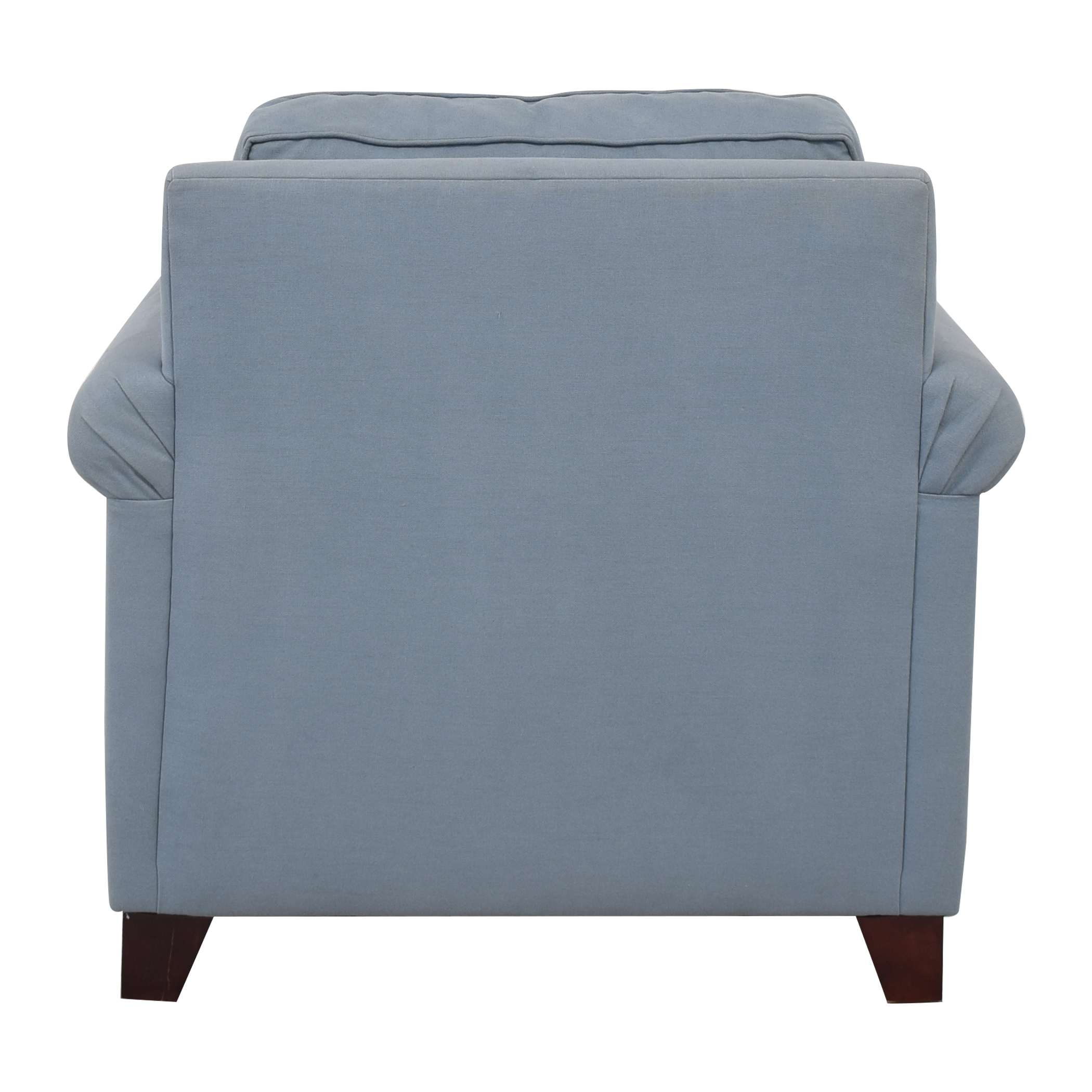 buy Pottery Barn Cameron Upholstered Roll Arm Chair Pottery Barn