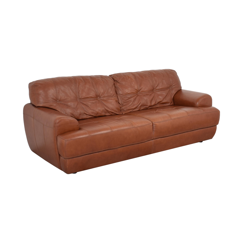 Macy's Tufted Sofa sale