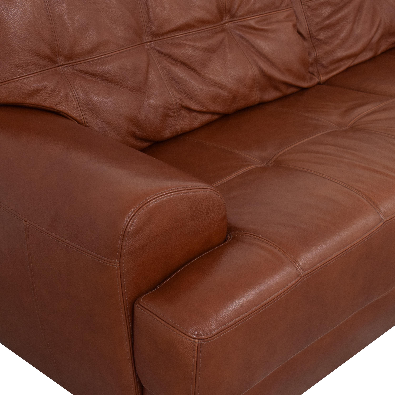 Macy's Macy's Tufted Sofa Classic Sofas