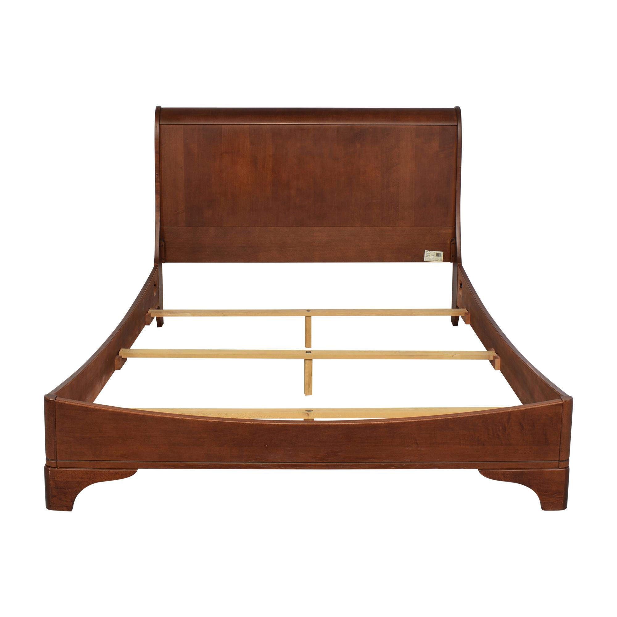 buy Abbyson Abbyson Cooper Queen Sleigh Bed online