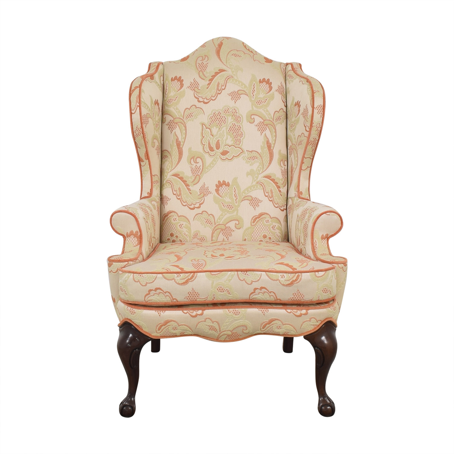 Macy's Macy's Upholstered Wingback Chair on sale