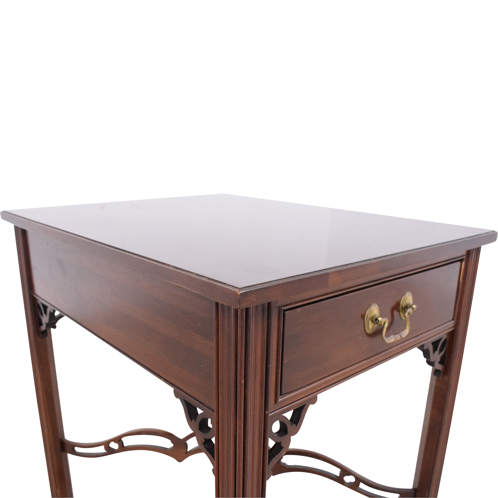 Ethan Allen One Drawer End Table / Tables