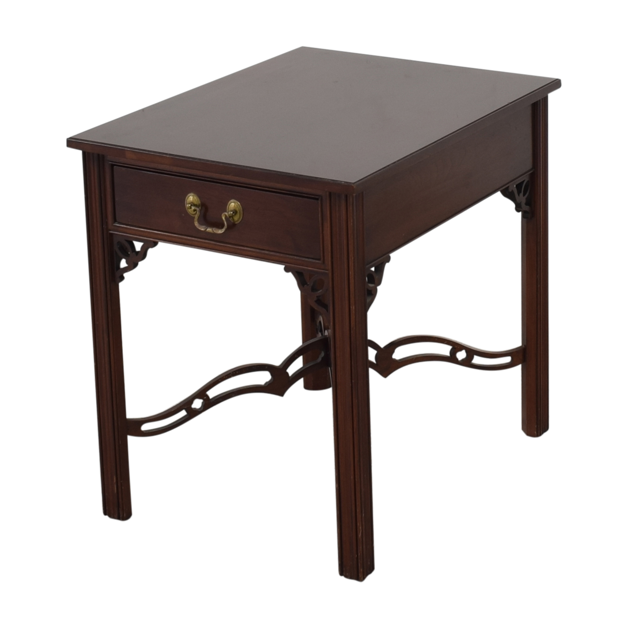 Ethan Allen Ethan Allen One Drawer End Table nj