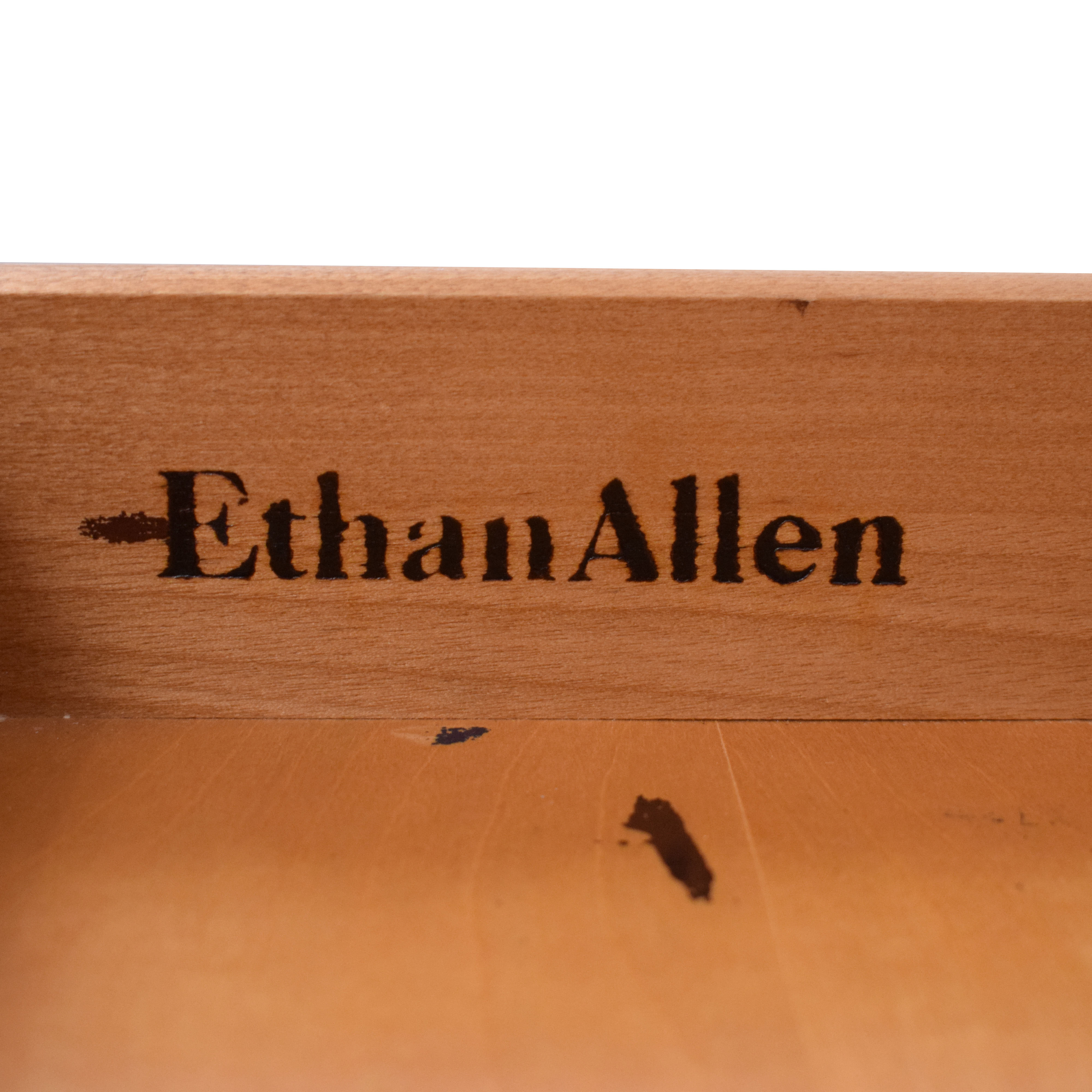 Ethan Allen Ethan Allen Four Drawer End Table Tables