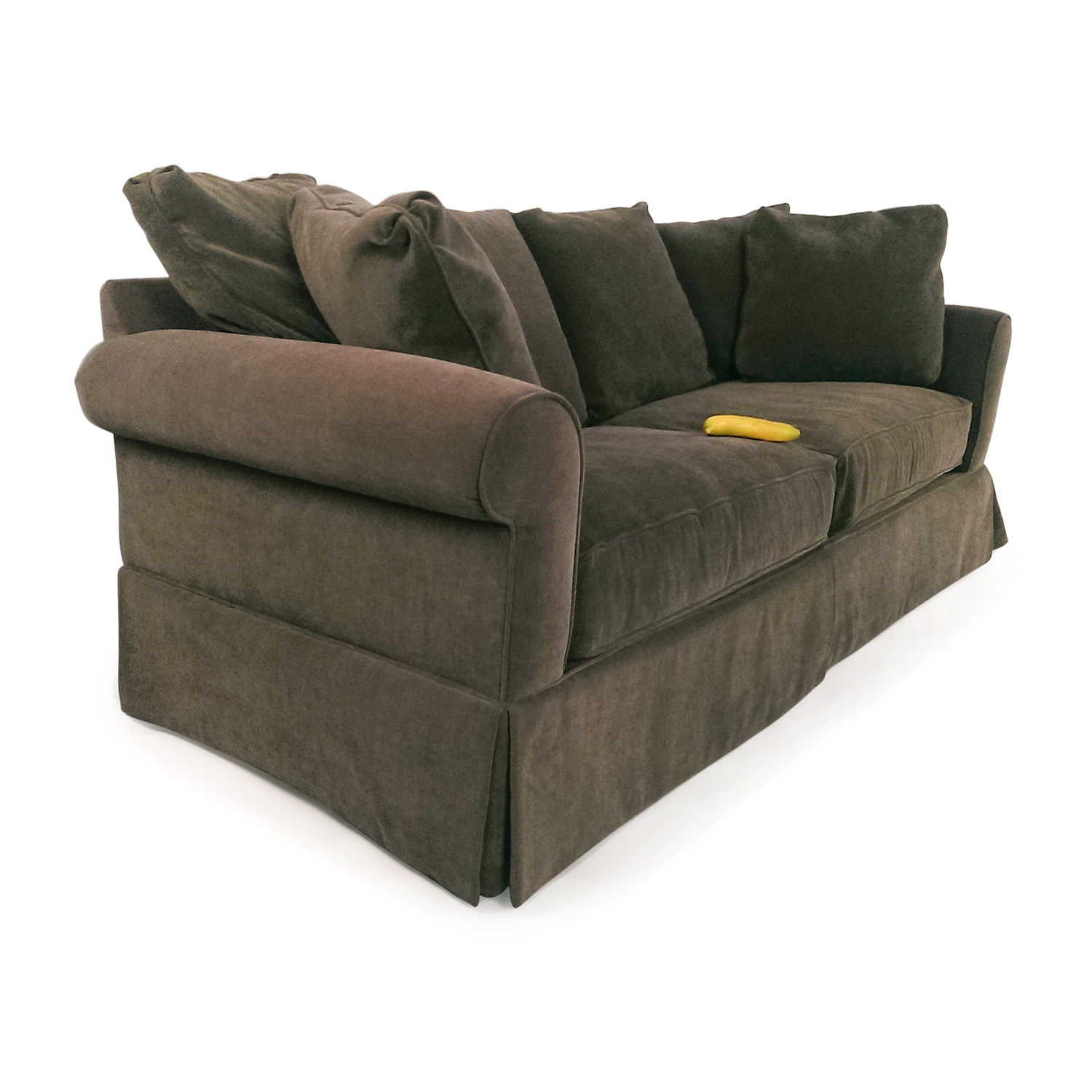 81 Off Macy S Macy S Pea Green Couch Sofas