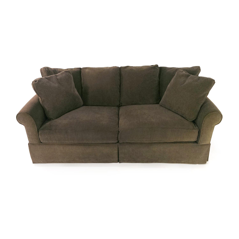 shop Macys Macys Pea Green Couch online