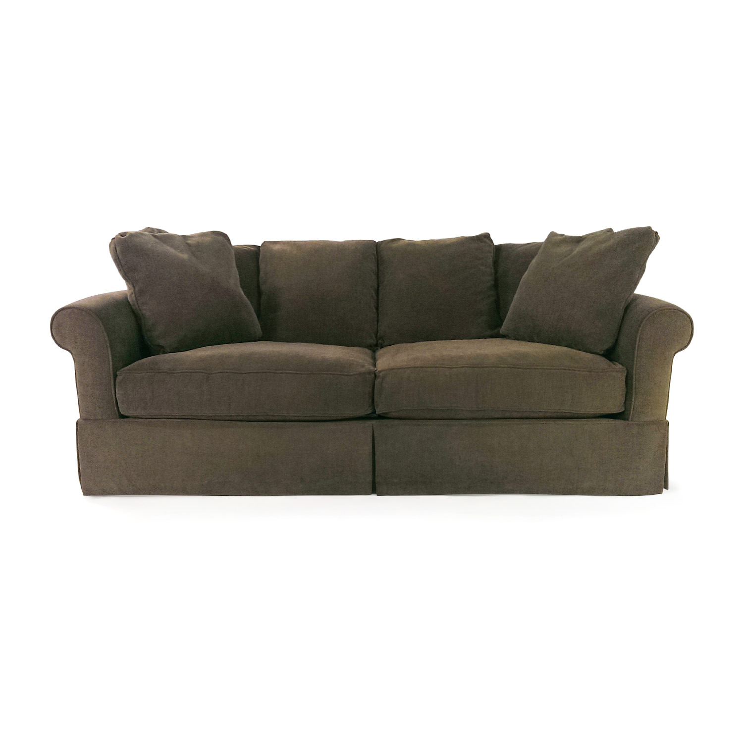 Macys Couch: Macy's Macy's Pea Green Couch / Sofas