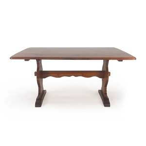 Extendable Large Wooden Dining Table nj