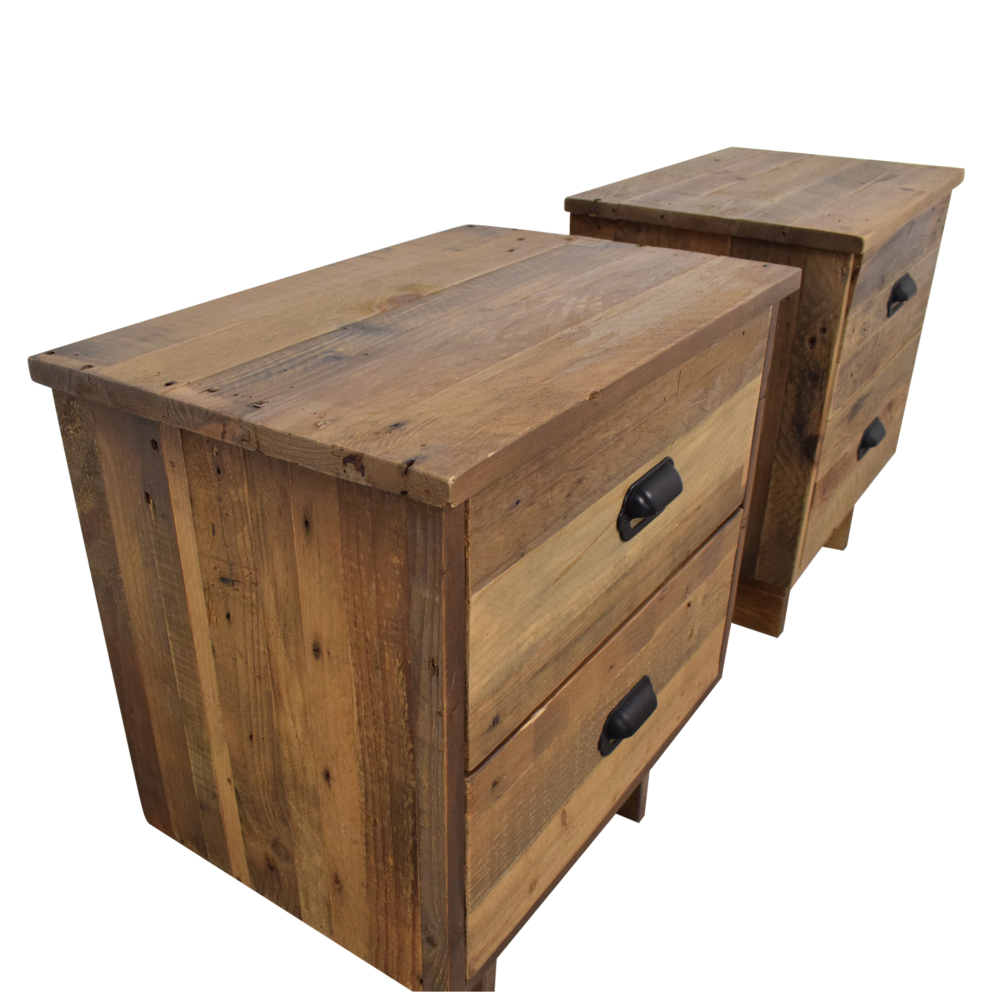 PGT Reclaimed PGT Reclaimed Wood Nighstands Tables