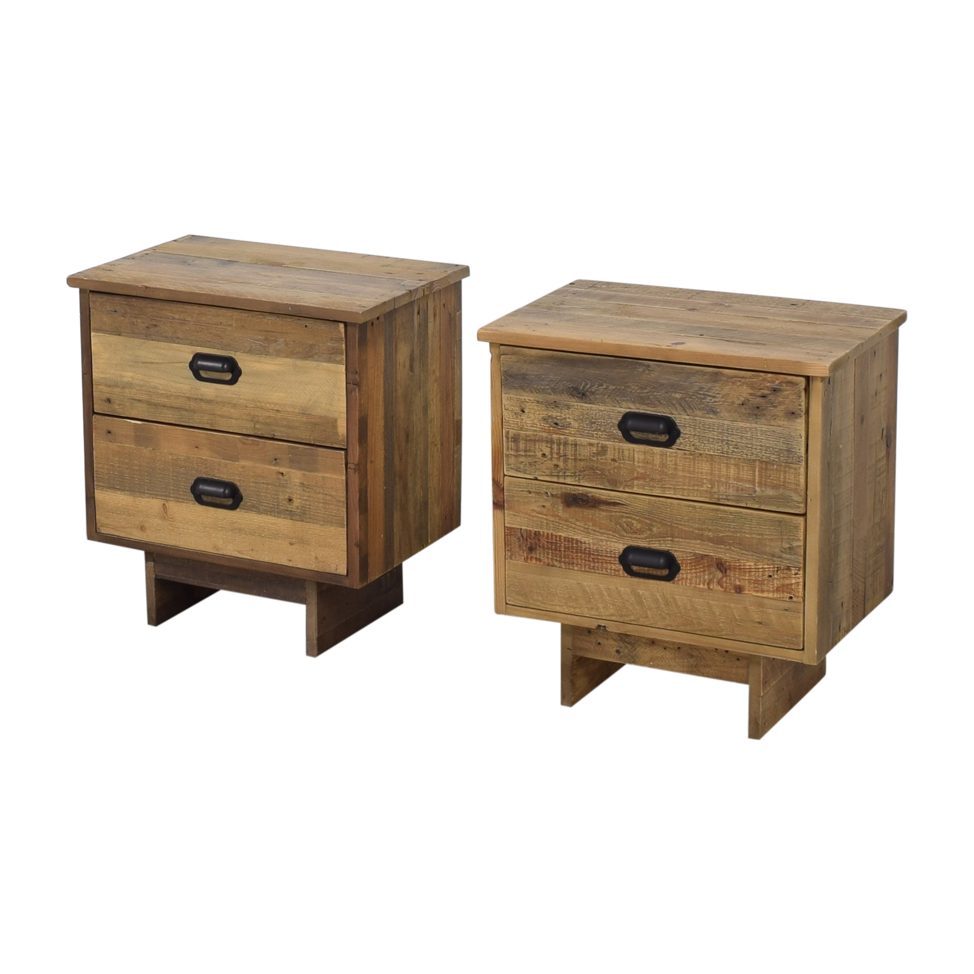 PGT Reclaimed PGT Reclaimed Wood Nighstands End Tables