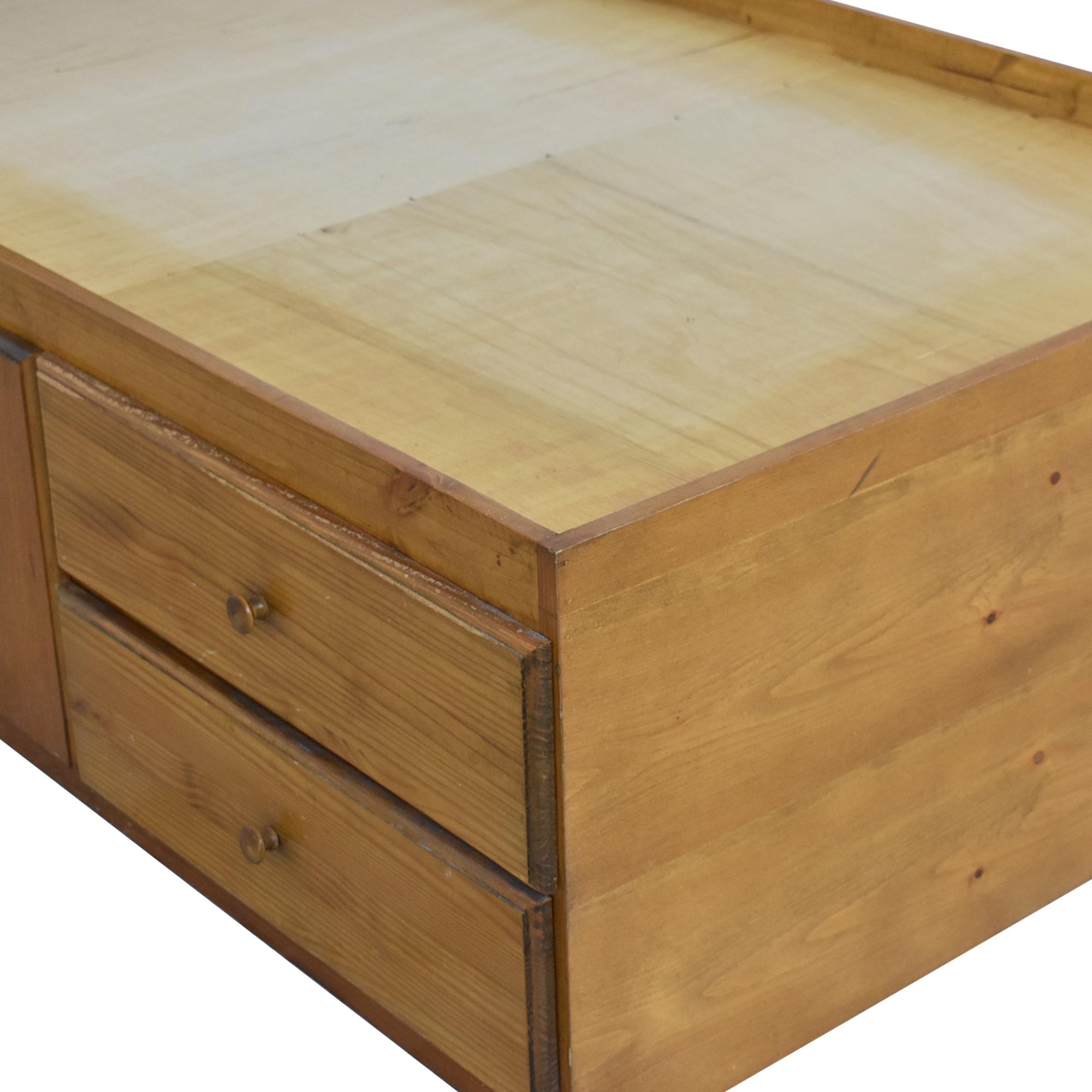 buy Gothic Cabinet Craft Gothic Cabinet Craft Captain Twin Storage Bed online