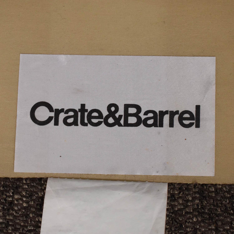 shop Crate & Barrel Lounge II Sofa Crate & Barrel Sofas