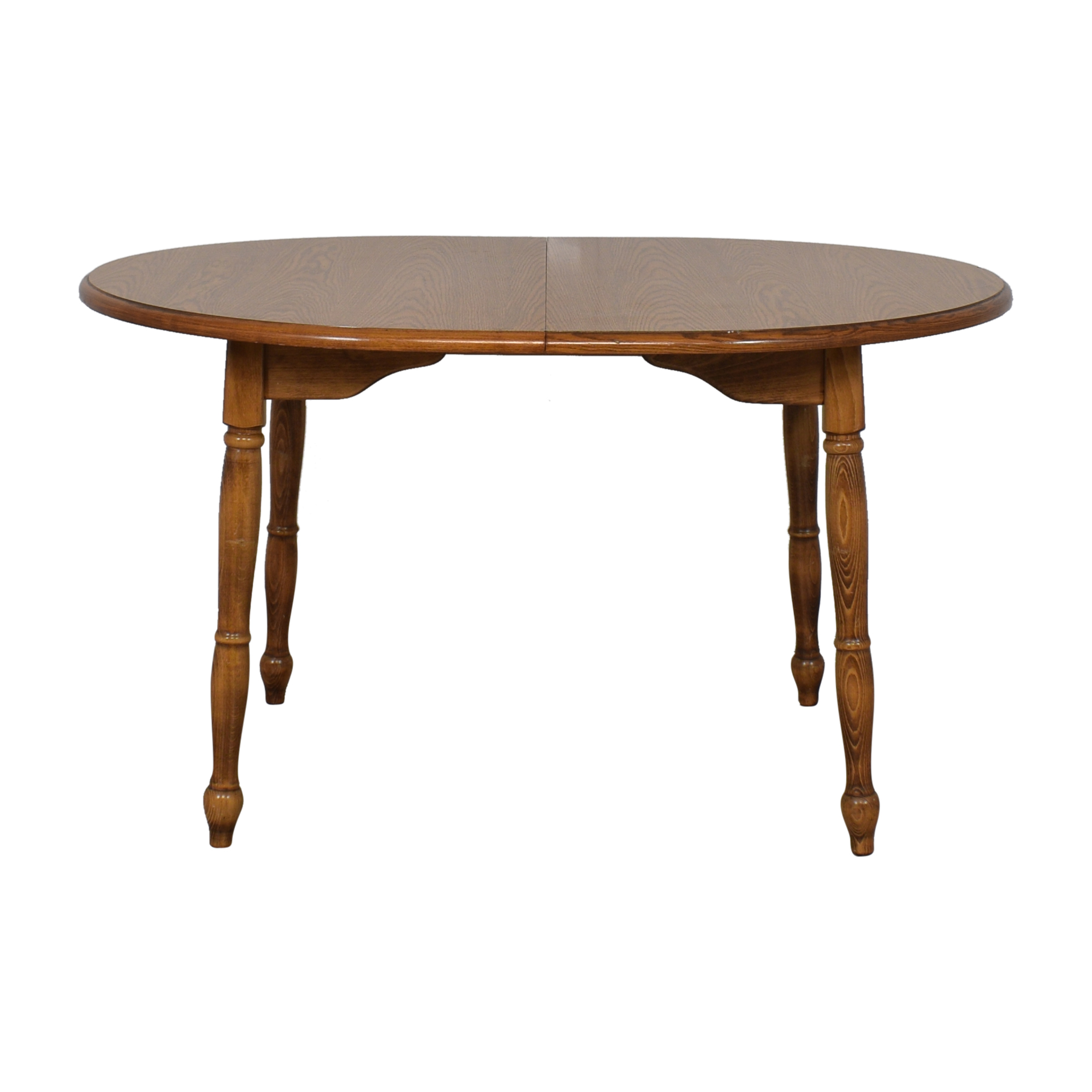 Round Extension Dining Table second hand