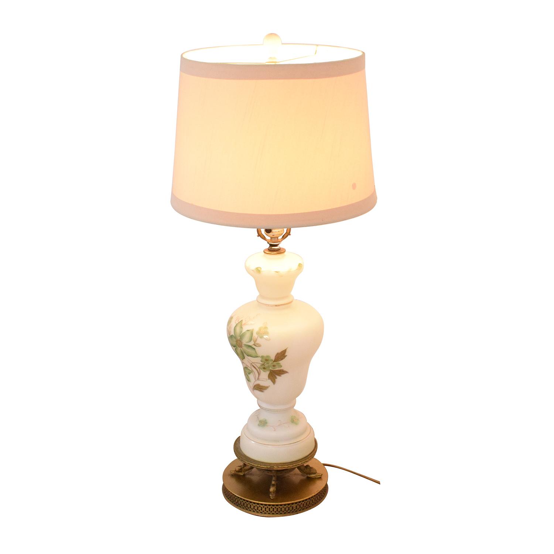 Vintage Floral Lamp price