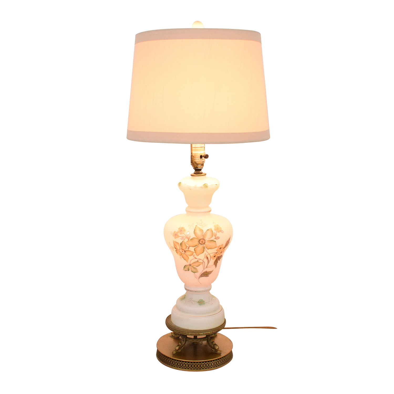 Vintage Floral Lamp for sale